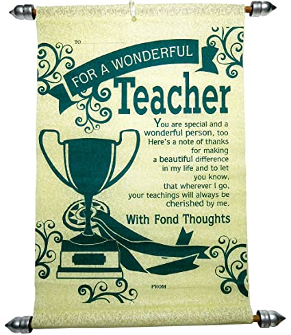 Siddhi Gifts Happy Teacher's Day Greeting Card: Amazon in: Office