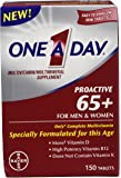 One A Day Proactive 65 Plus 多种维生素,150 片