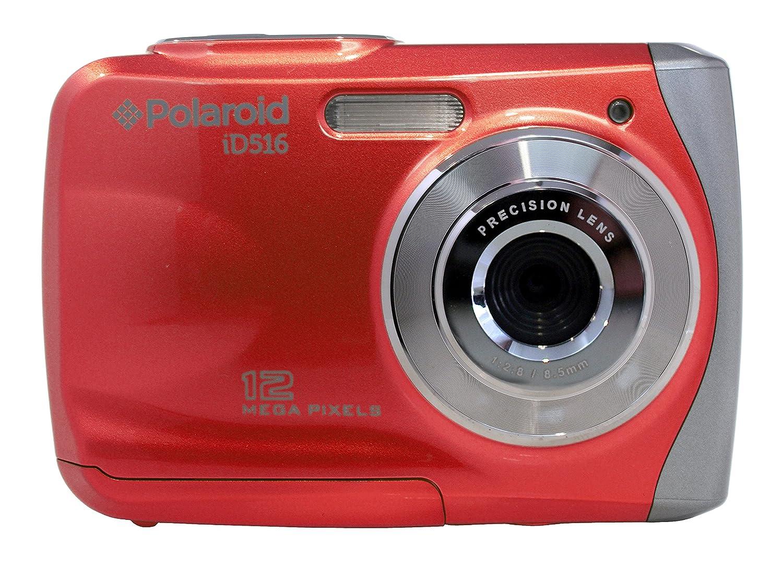 Polaroid ID516 - Cámara acuática, Rojo: Amazon.es: Electrónica