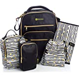 Diaper Bag Travel Backpack for Women: Large Waterproof Bags for Mom and Baby