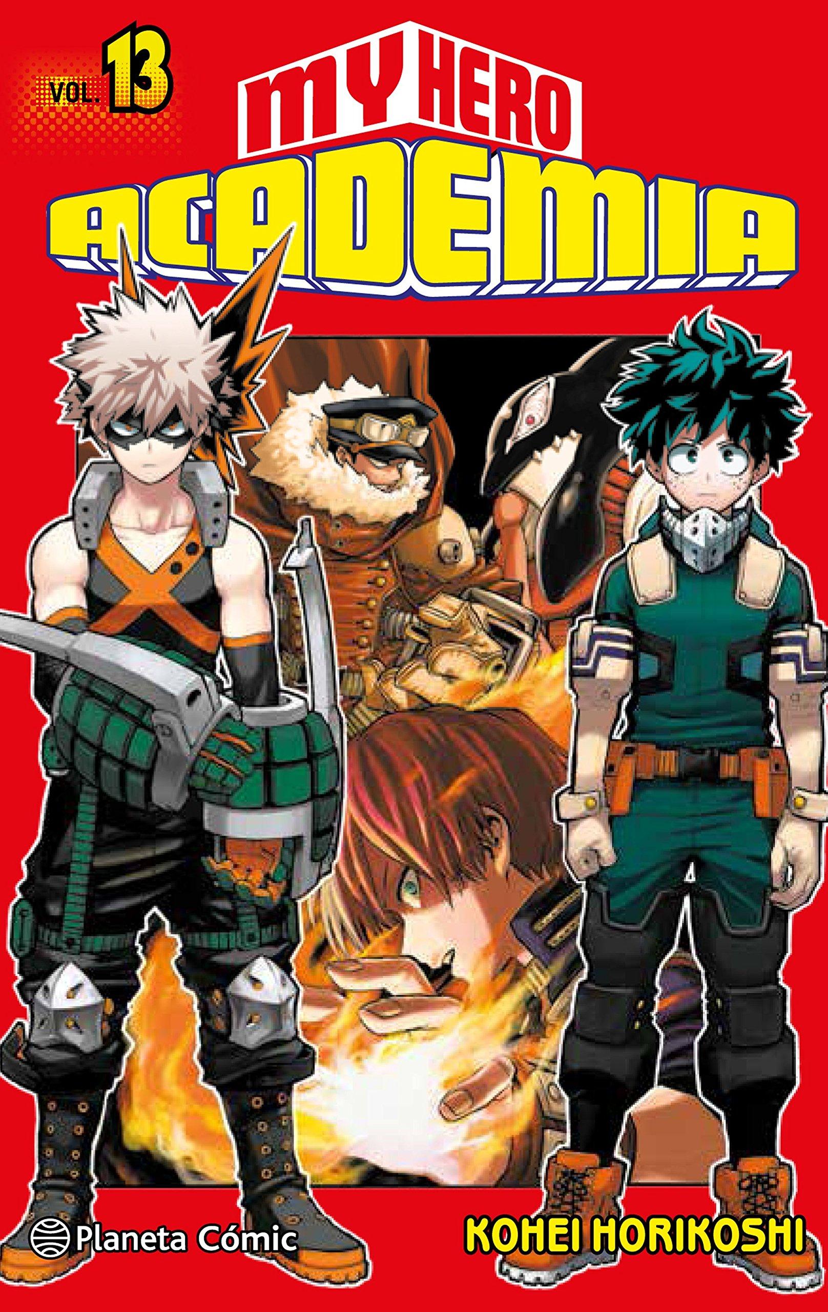 My Hero Academia nº 13 (Manga Shonen) Tapa blanda – 16 oct 2018 Kohei Horikoshi Daruma Planeta DeAgostini Cómics 8491468552