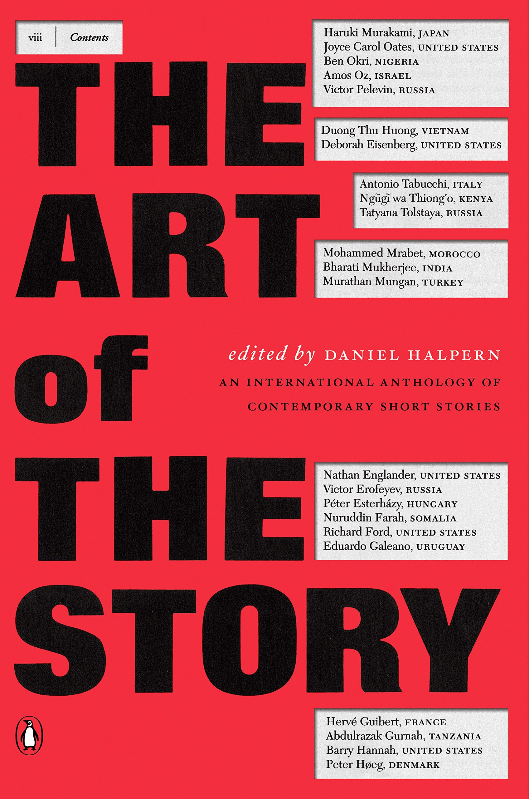 The Art Of Story An International Anthology Contemporary Short Stories Daniel Halpern 9780140296389 Amazon Books