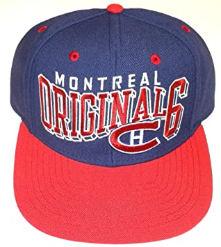 8fb97193b30 CCM NX12Z Original 6 Snapback Hockey Hat - Montreal Canadiens - Royal   Amazon.ca  Sports   Outdoors
