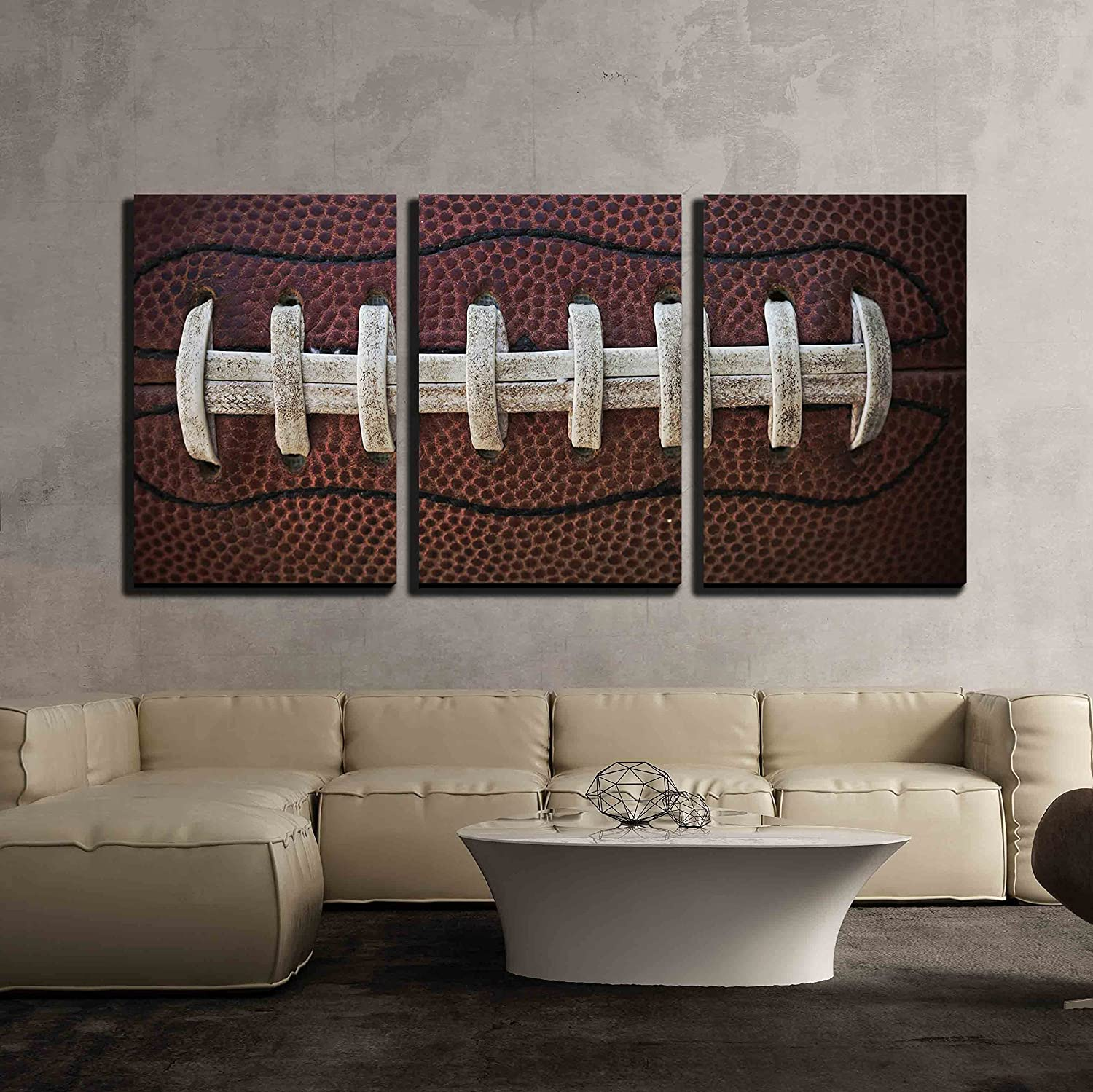 American Football Laces - Canvas Art Wall Art - 16
