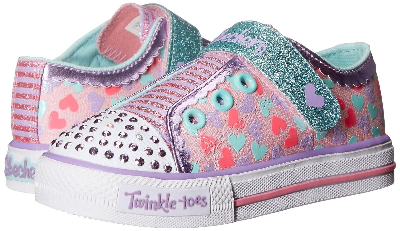 timeless design a0c64 e623d Amazon.com   Skechers Kids Twinkle Toes Shuffles Light-Up Sneaker (Little  Kid)   Sneakers