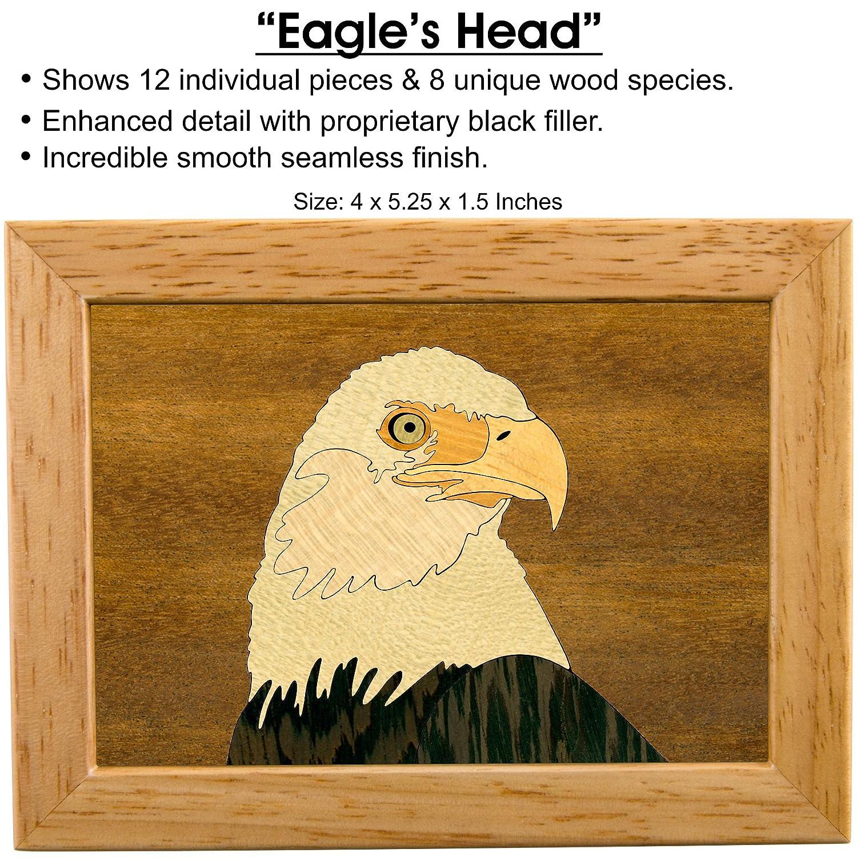 Amazon.com: Wood Art Eagle Box - Handmade USA - Unmatched Quality ...