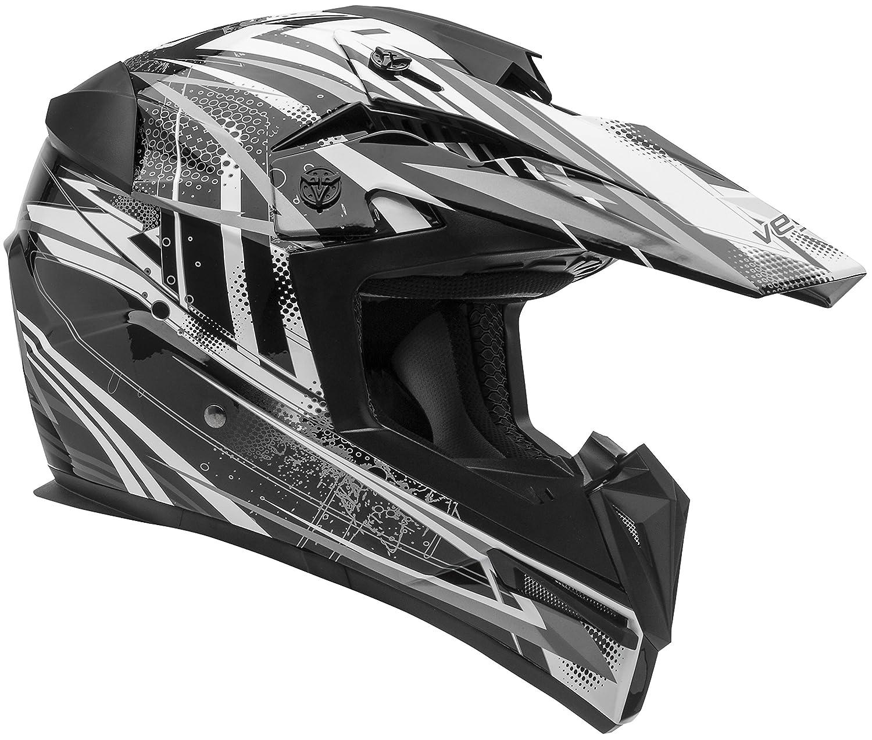 729e6f3d Vega Helmets MIGHTY X Kids Youth Dirt Bike Helmet – Motocross Full Face  Helmet for Off-Road ATV MX Enduro Quad Sport, 5 Year Warranty (KTM Orange  Blitz ...