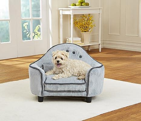 Perros sofá | cama para perros | perro Cojín | Perros Lounge - Diseño con cabecero disponible en diferentes colores 67 x 46 x 30 cm