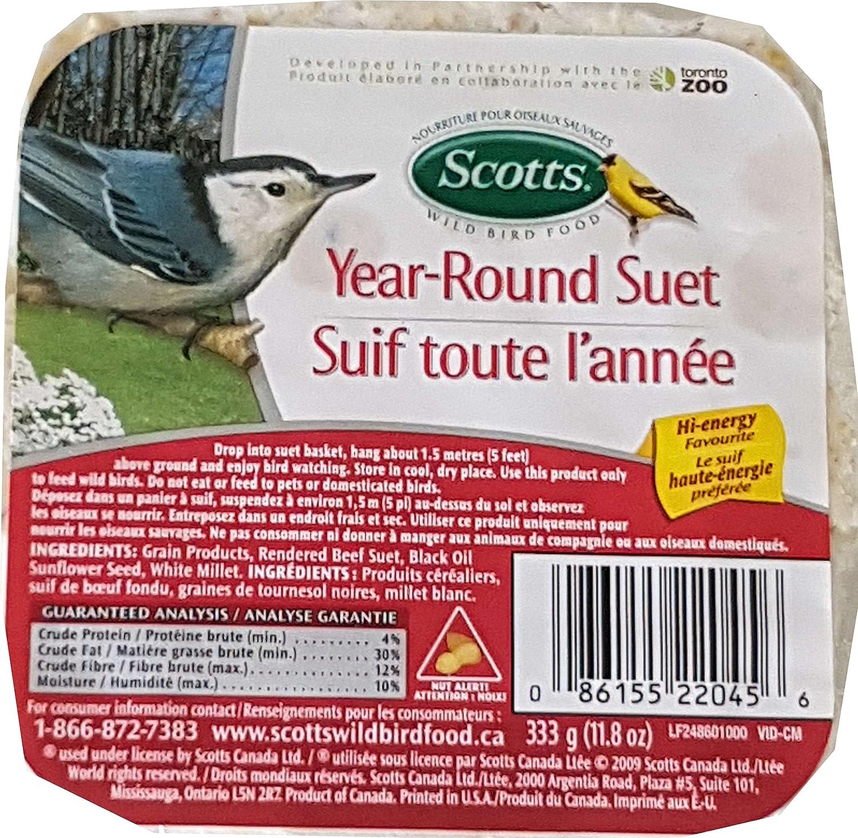 Hi-Energy Suet Wild Bird Food (Bundle of 2) Scotts Canada Ltd.