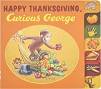 Happy Thanksgiving Curious George Tabbed Board