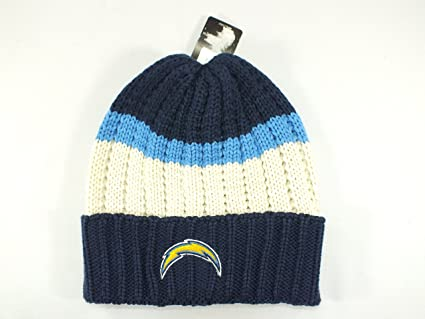 Amazon.com   SAN Diego Chargers Retro Cuff Knit Hat New By Reebok ... e36252b48de