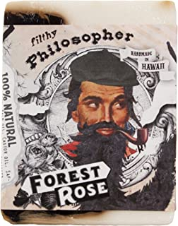 product image for Filthy Philosopher all natural glycerin BAR SOAP Rose Cedar Pine Patchouli by Filthy Farmgirl