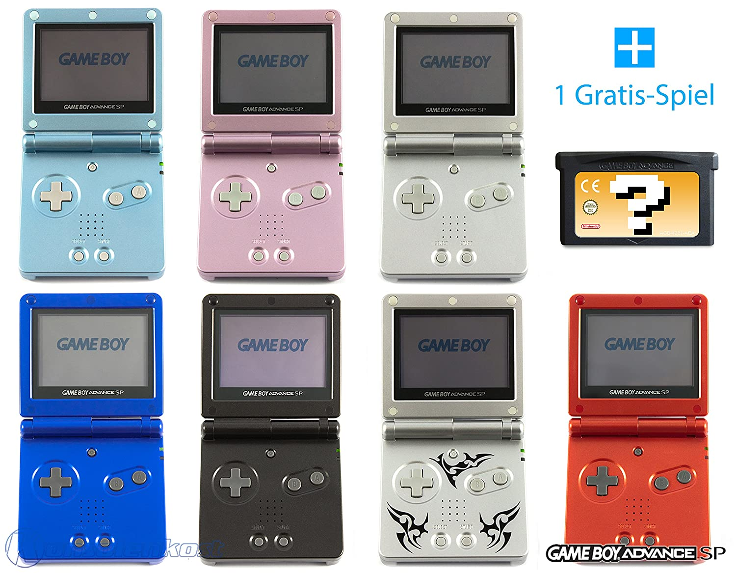 Game boy color kaufen - Gameboy Advance Sp Konsole Farbe Nach Wahl Gratis Spiel Amazon De Games