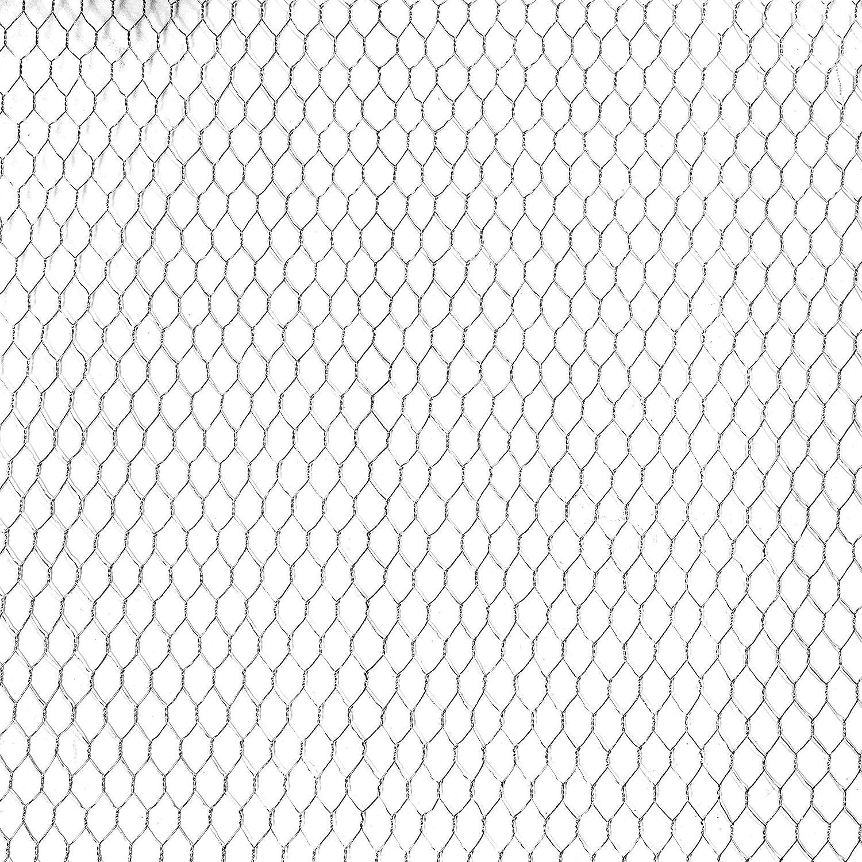 ESTEXO Sechseckgeflecht 1 m x 25 m Hasendraht Kaninchendraht Maschendraht Gartenzaun verzinkt