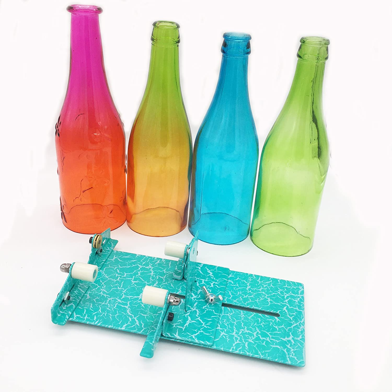Botella de cristal Cortador puntuación máquina herramienta de corte: Amazon.es: Hogar
