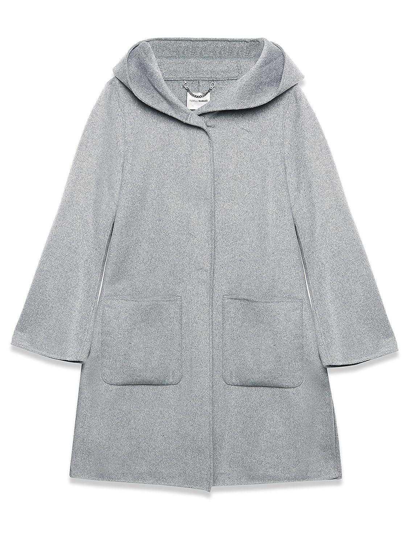 Fiorella Rubino Damen Mantel Grau grau 40: : Bekleidung