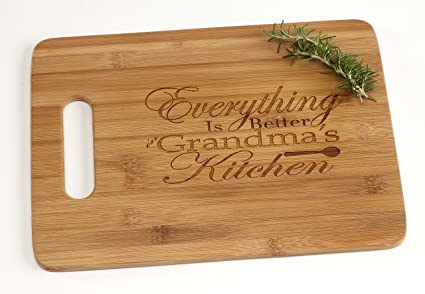 amazon com everything is better in grandma s kitchen engraved