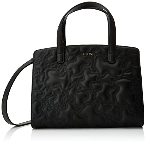 04e03495b Tous Bowling Mediano Kaos Capitone, Women's Bag, Negro (Black), 14x22x29 cm