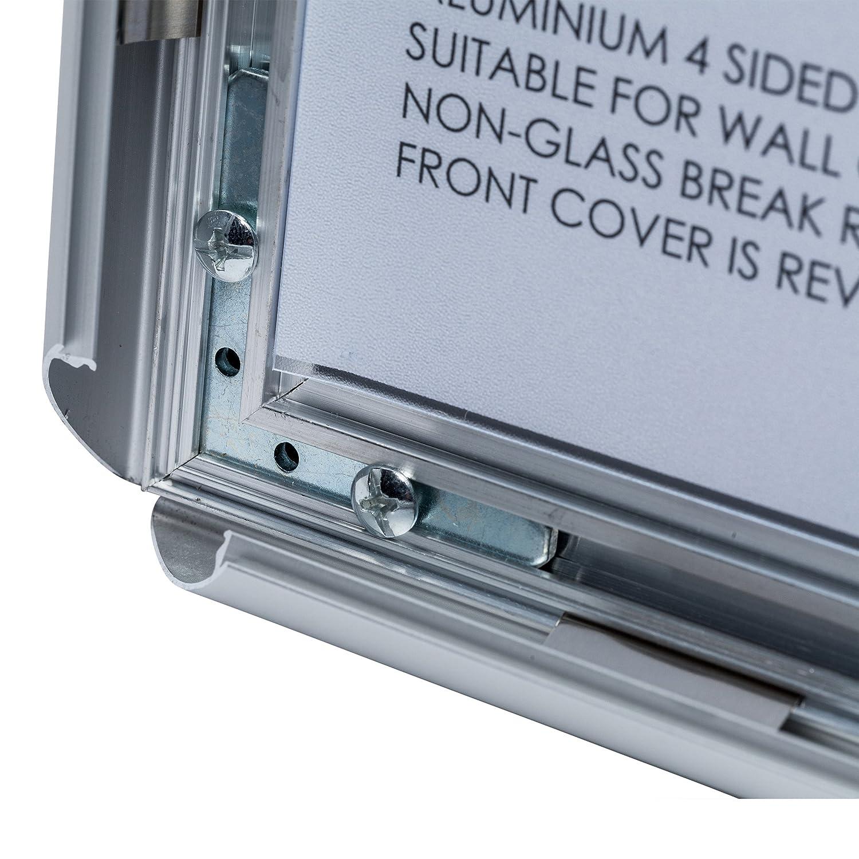 snapa1s Snap Metall A1 (59 x 84 cm) Poster Zertifikat Display ...