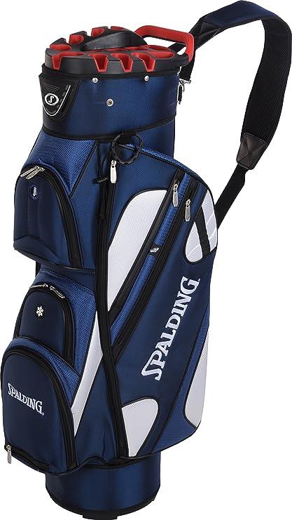 Spalding OT - Bolsa de Carro para Palos de Golf, Color Azul ...