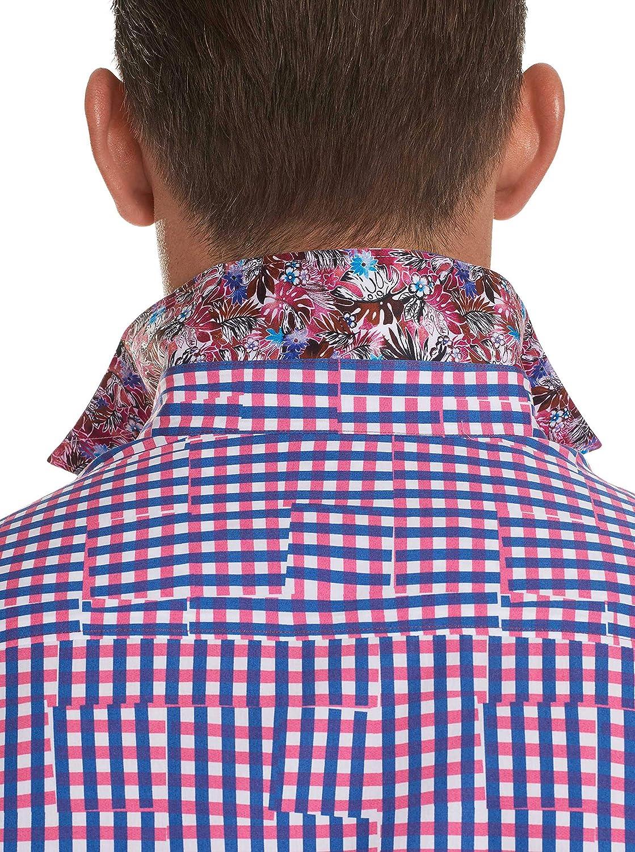 Robert Graham Mens Perez Long Sleeve Classic Fit Shirt