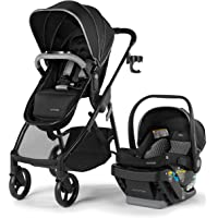 Summer Myria Modular Travel System with The Affirm 335 Rear-Facing Infant Car Seat, Onyx Blacky – Convenient Stroller…