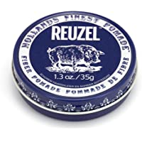Reuzel - Fibre Water Soluble Pomade For Men - Firm, Pliable Long Lasting Hold - Non-Sticky, Flake Free - Low Shine…