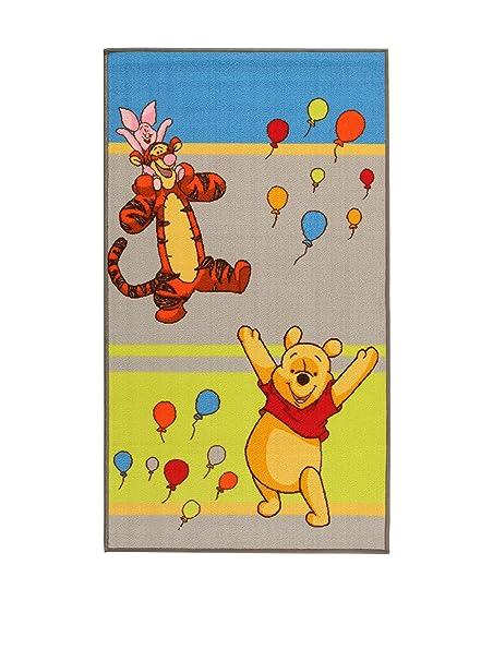 ABC #Tapis pour Enfant Motif Disney Winnie lourson et Ses Amis Danse 170 x 100 cm