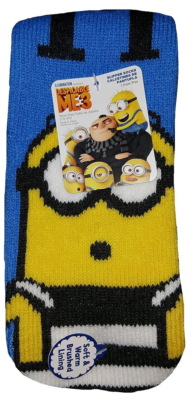 Amazon.com: Despicable Me Minions Slipper Socks: Clothing