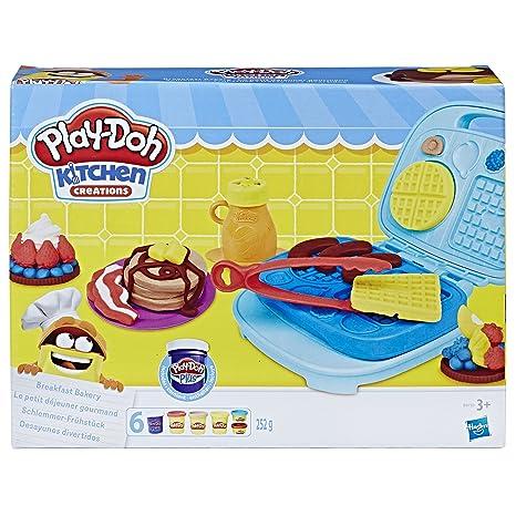 Play-Doh- Maquina De Gofres (Hasbro B9739EU5): Amazon.es: Juguetes ...