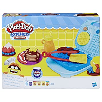 Play Doh B9739eu4 Kitchen Creations Breakfast Bakery Set Play Doh
