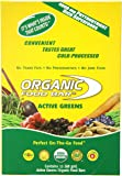 Organic Food Bar Active Greens, 2.4 Ounce (Pack of 12)