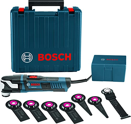 Bosch GOP55-36C1 StarlockMax Oscillating Multi-Tool Kit