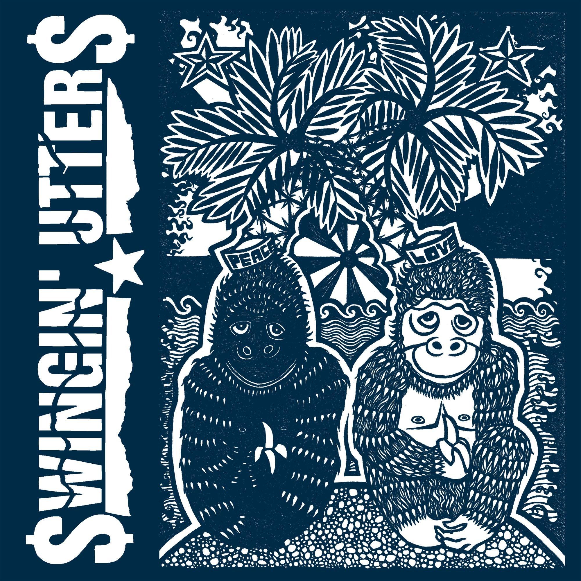 Vinilo : Swingin' Utters - Peace & Love (LP Vinyl)