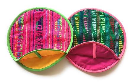 Pack de 2 real Mexican Tortilla Warmer 9