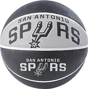 "Spalding NBA Courtside Team 29.5"" Outdoor Rubber Basketball"