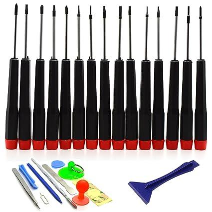 ACENIX® – Kit de reparación de destornillador y juego de herramientas para MacBook Pro, Air, Retina (27 piezas)