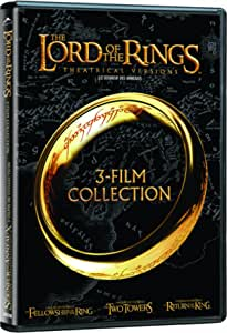 The Lord of the Rings: 3-Film Collection - Theatrical Edition (The Fellowship of the Ring / The Two Towers / The Return of the King )