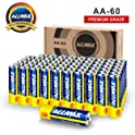60-Pack Allmax AA Alkaline Batteries
