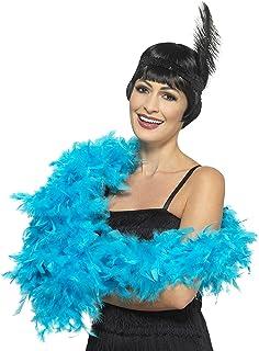 Boa Echarpe Plume Deguisement Synthetique 180cm Bleu Turquoise - 767 LCN  Boutique de noel b4b8a3d684b