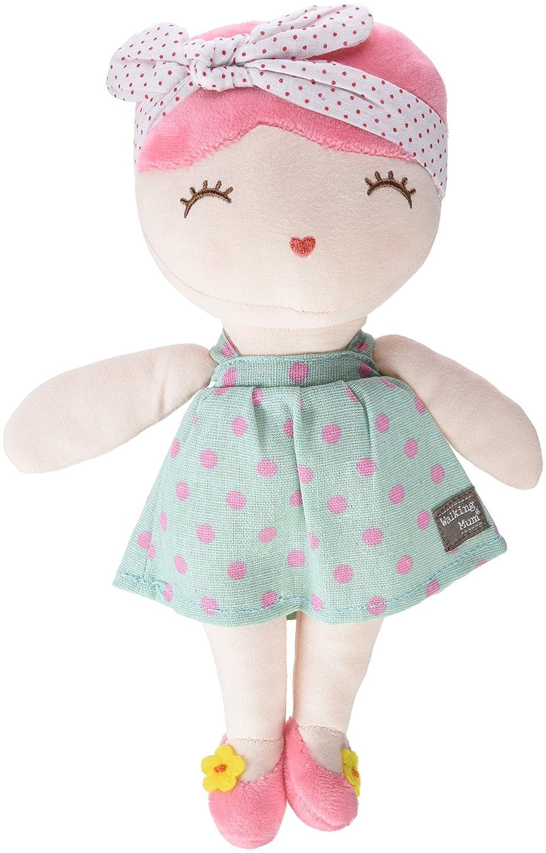 Walking Mum 35898 - Muñeca pelo, color rosa: Amazon.es: Bebé
