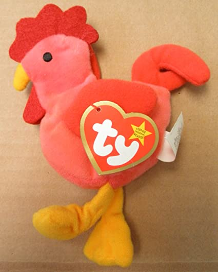 9ffb12286dd Image Unavailable. Image not available for. Color  TY Teenie Beanie Babies  Strut ...