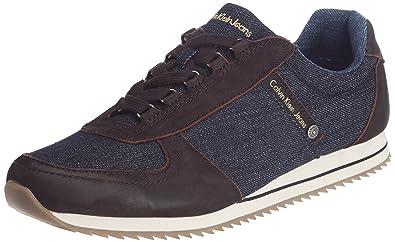 Jeans Baskets Max Marron Leather Mode Calvin Klein Homme Soft Z5ARnwq