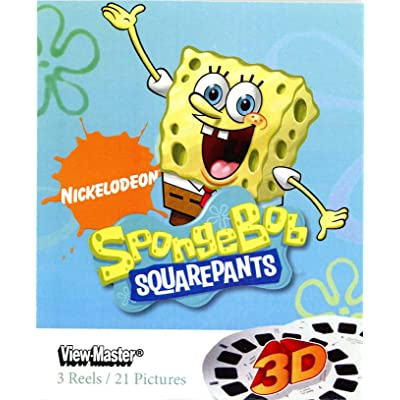 SpongeBob Squarepants 3D ViewMaster - 3 Reel Set: Toys & Games