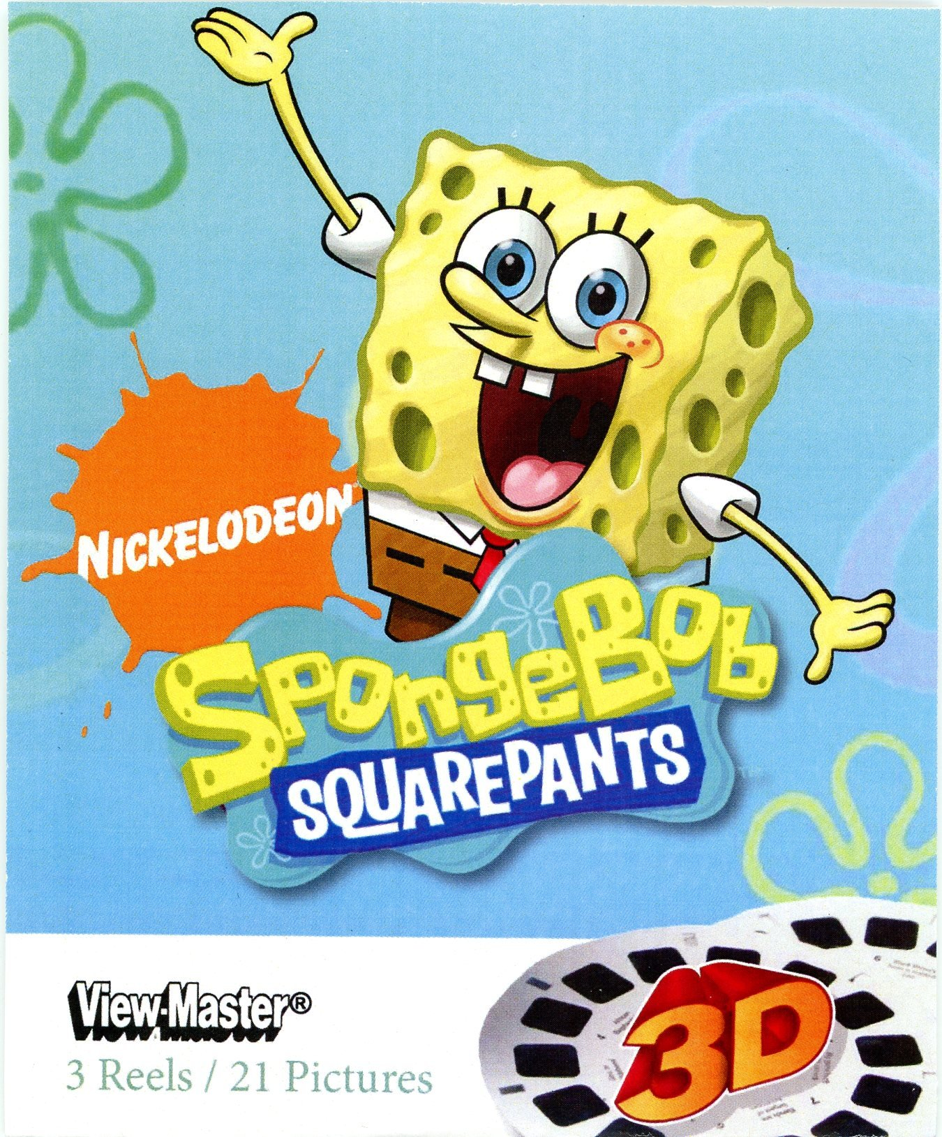 SpongeBob Squarepants 3D ViewMaster - 3 Reel Set by View Master (Image #1)