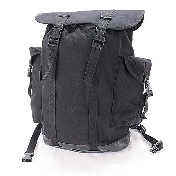 Mil-Tec Bw - Mochila de montañero (25 L) negro negro Talla:32 x 21 x 40 cm: Amazon.es: Deportes y aire libre