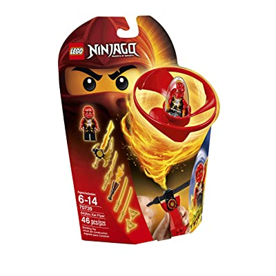LEGO Ninjago Airjitzu Kai Flyer 70739 Building Kit: Toys & Games