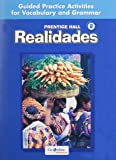 PRENTICE HALL SPANISH REALIDADES LEVEL 2 GUIDED PRACTICE WORKBOOK 2008C