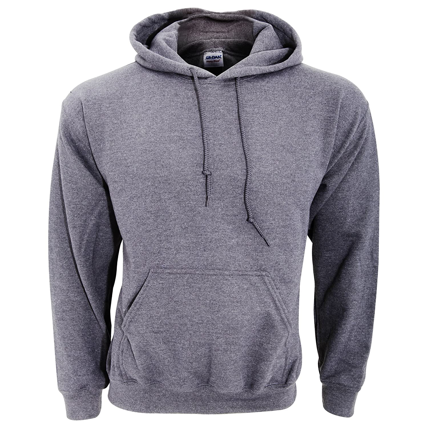 d5a455d4fb21 Gildan Heavy Blend Adult Unisex Hooded Sweatshirt   Hoodie  Amazon.co.uk   Clothing