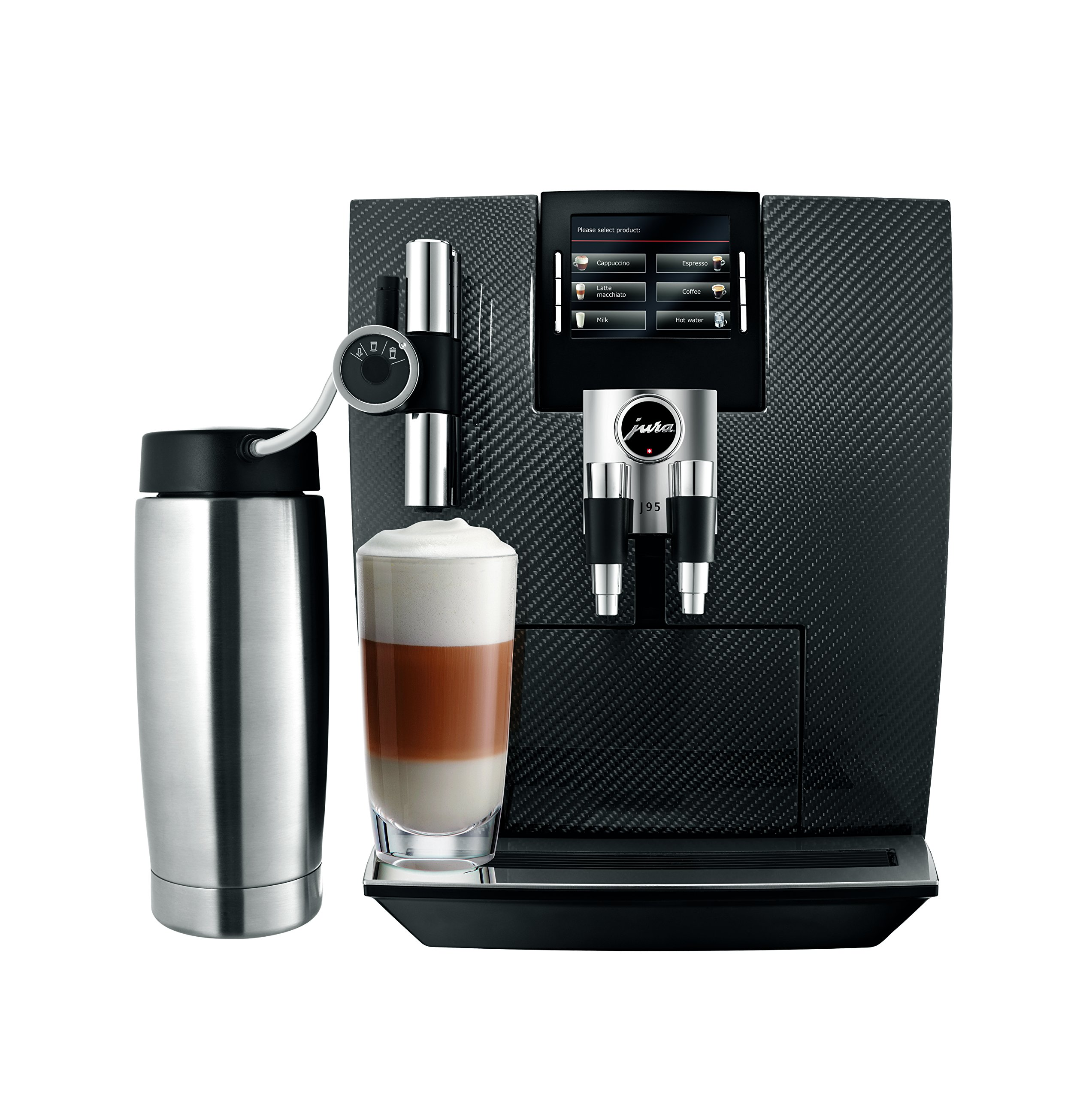 Jura J95 Automatic Coffee Machine, Carbon